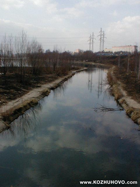 реки в Люблинский пруд