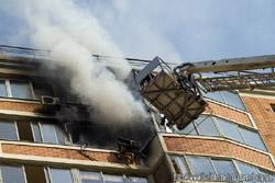 Пожар на Рудневке д. 35, Кожухово